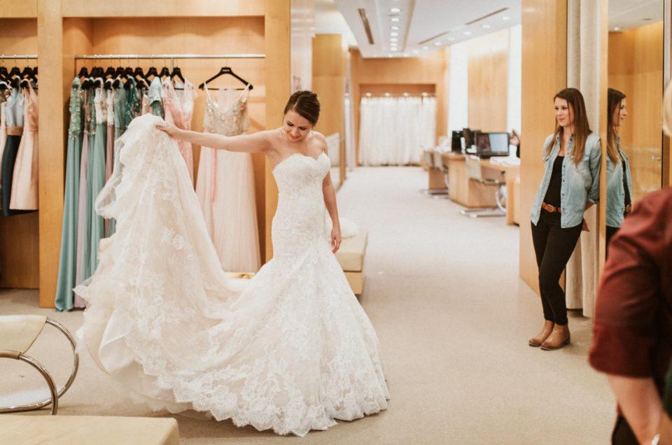 Dernier essayage robe de mariée Pronovias à Lyon 69