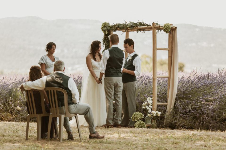 Photographe mariage Bonnieux 84, cérémonie laïque