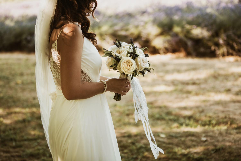 bouquet de mariage Champêtre en Provence