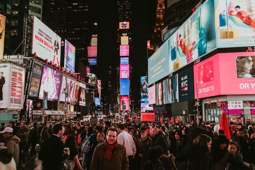 Photographe time square New-York