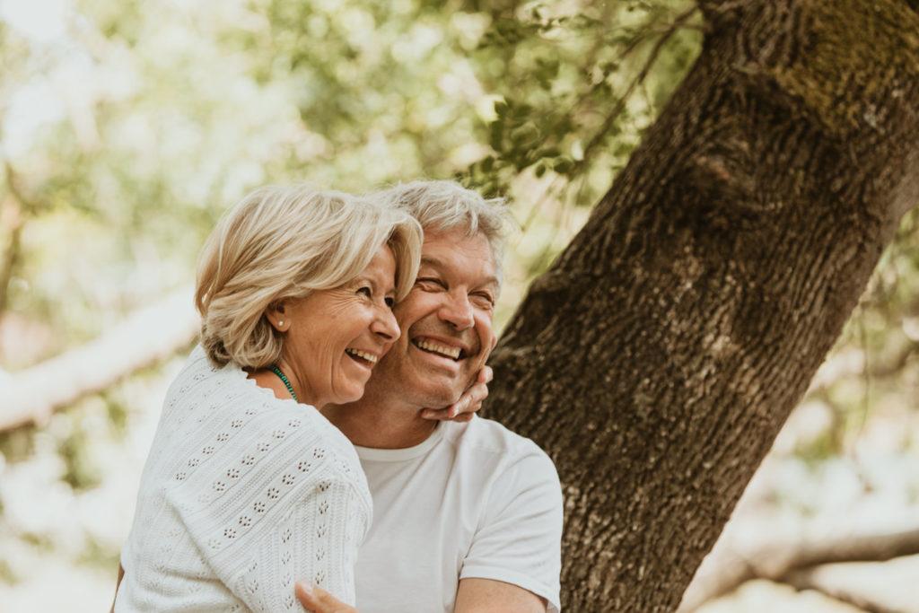 Photographe couple d'âge mûr Isle-sur-la-Sorgue