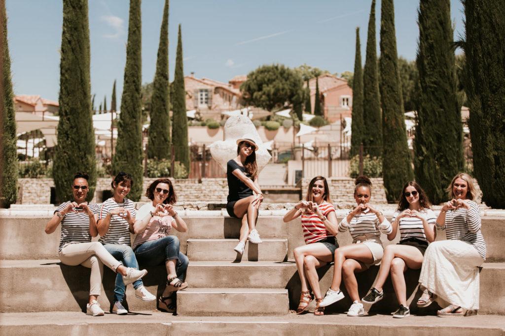 Shooting photo EVJF Nîmes