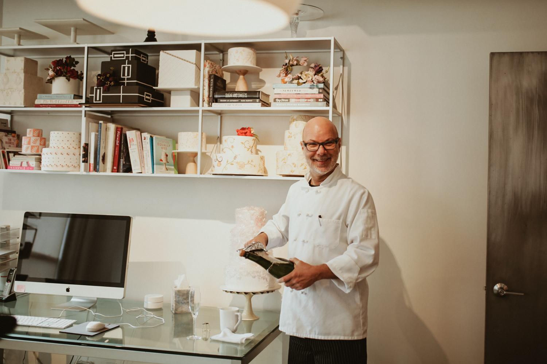 ron ben Israel dans son atelier de manhattan