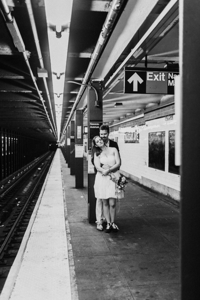 photo mariage métro New-York