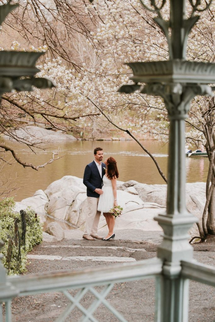photo mariage central park New-York
