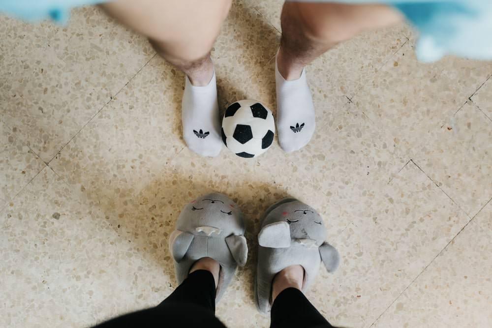 photo vue de dessus sur les pieds