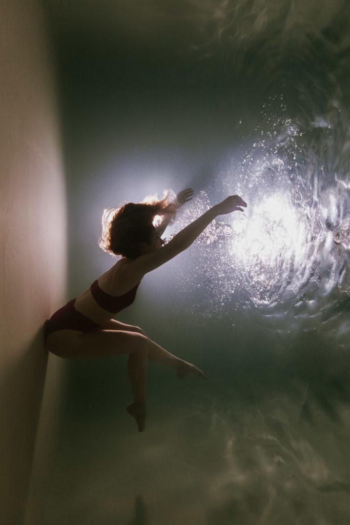 photo femme sous l'eau, shooting photo sous l'eau