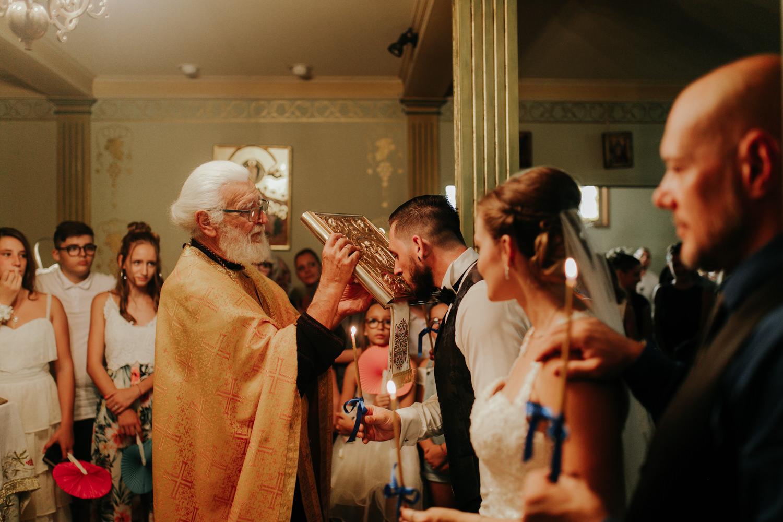 photo cérémonie de mariage orthodoxe à Carpentras