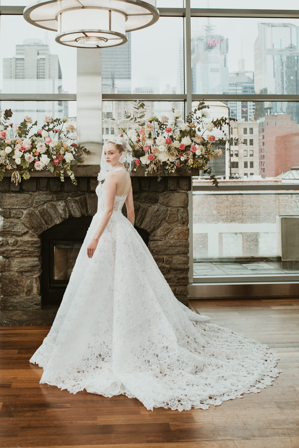photo robe de mariée isabelle Armstrong new york