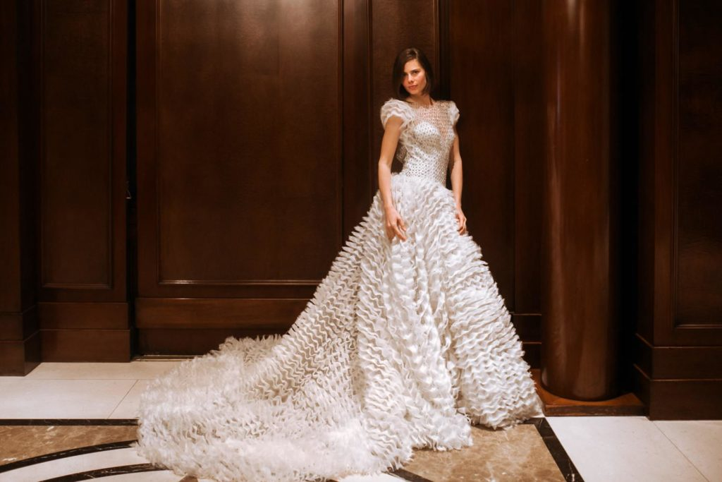 Fashion photographer wedding dress Gemy Maalouf