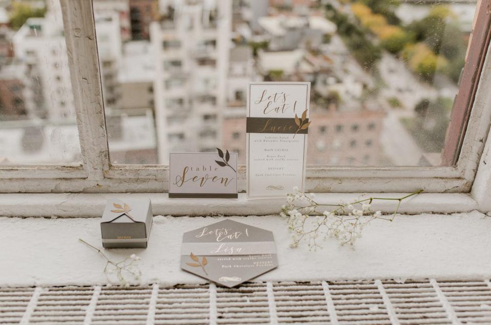 faire-part de mariage, invitation, menu et boite cadeau de mariage
