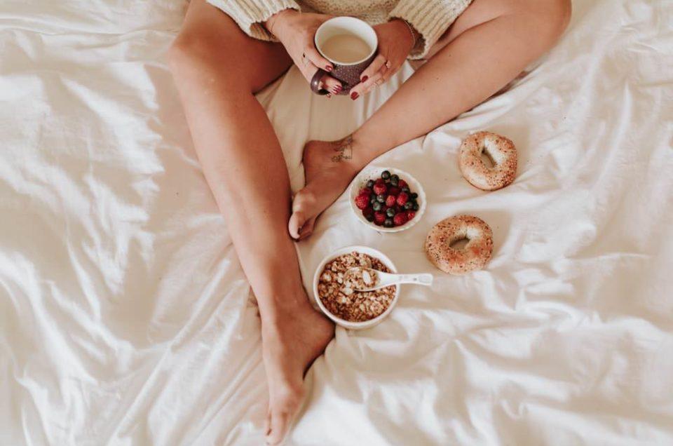 petit déjeuner au lit, photographe Montpellier