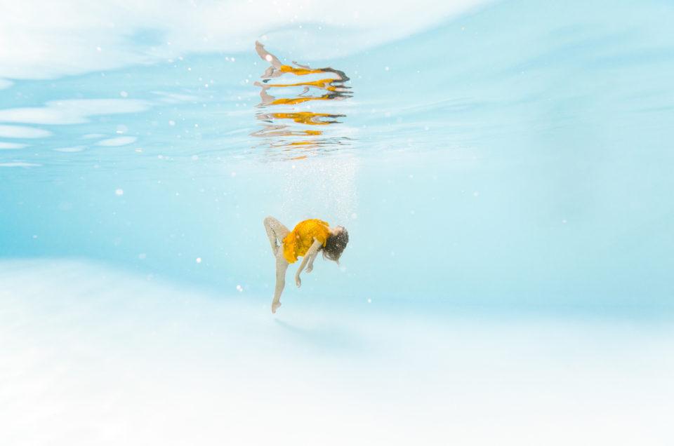 séance photo dans l'eau, underwater