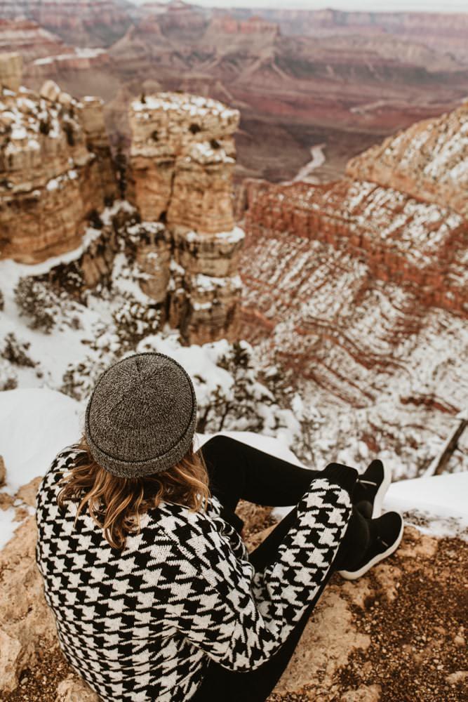 photographe de voyage grand canyon