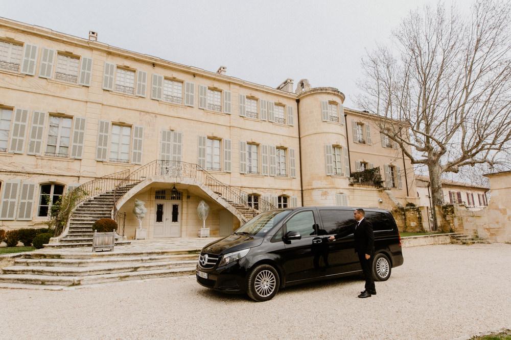 Photographe pour chauffeur privé Avignon et Montpellier