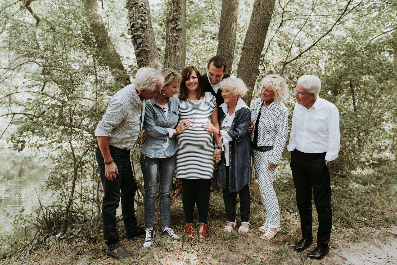 photo famille plusieurs générations Montpellier