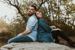 couple dos a dos qui rêve, shooting photo couple à montpellier