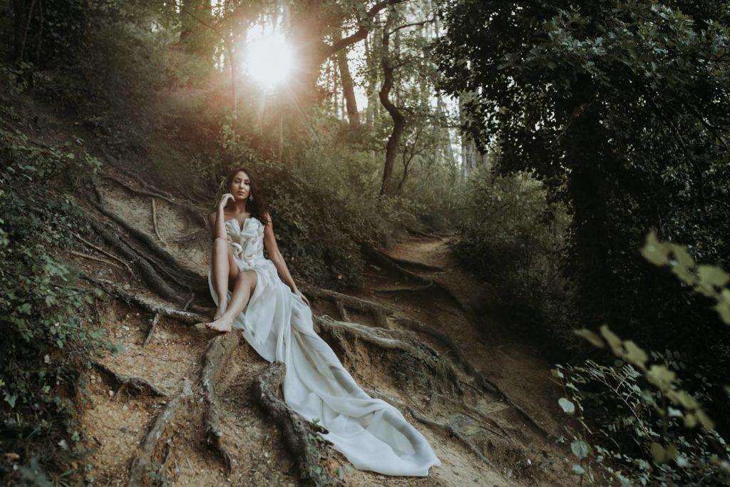 Photographe mariage en automne Montpellier Hérault Occitanie