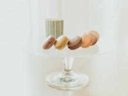 Macaron maison pour café gourmand dans salon de thé à Agde