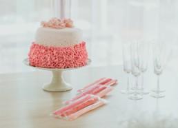 Gâteau de baby shower fille, à Béziers
