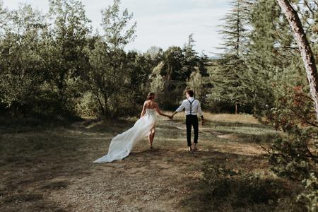 photographe de mariage à Aniane