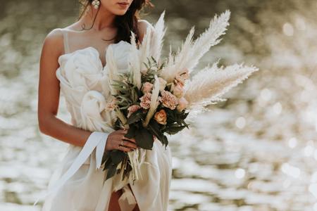 photographe bouquet de mariage à montpellier