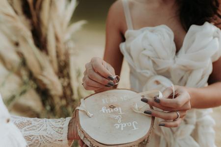 photographe de mariage à Candillargues