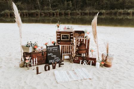 photographe de mariage à Poulx