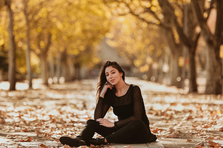 photographe portrait automne montpellier