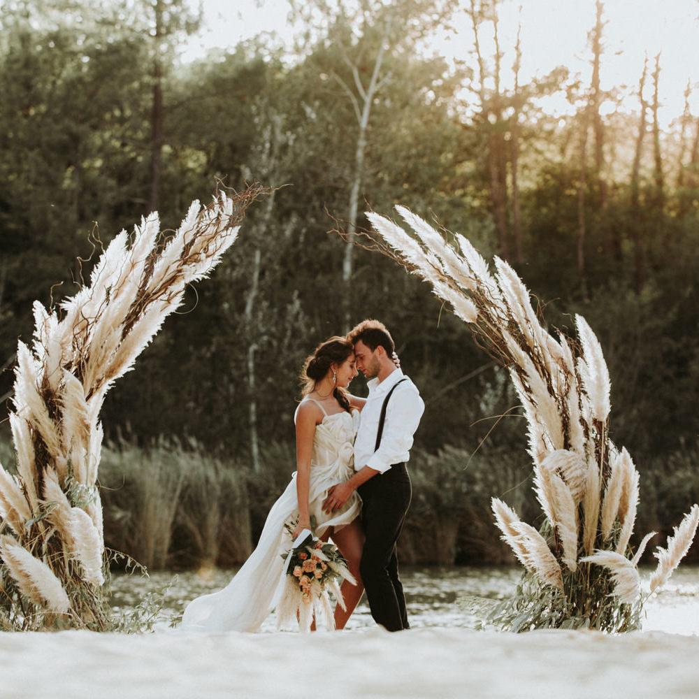 Shooting inspiration mariage : photographe mariage 34