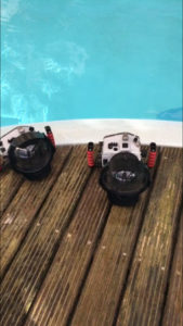 Caisson étanche Ikélite pour shooting photo sous l'eau aquatique