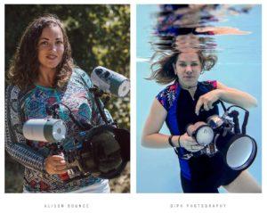Formation photographe dans l'eau, shooting photo aquatique à Montpellier