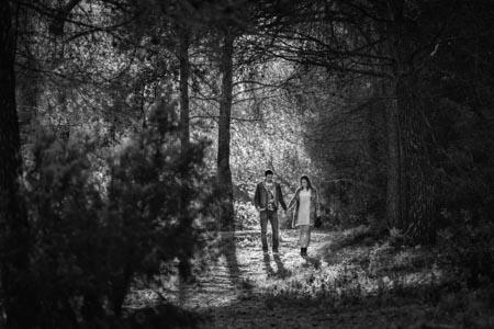 shooting photo couple montagne sainte victoire aix en provence