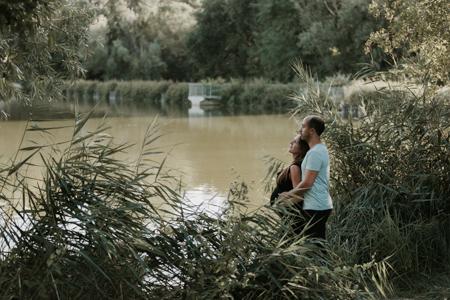 photographe maternité lac de Montaud