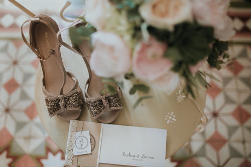 photo chaussures de mariage velleron