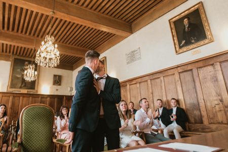 Photographe mariage gay à Boulbon