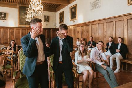 Photographe mariage gay à Mas-Blanc-Des-Alpilles