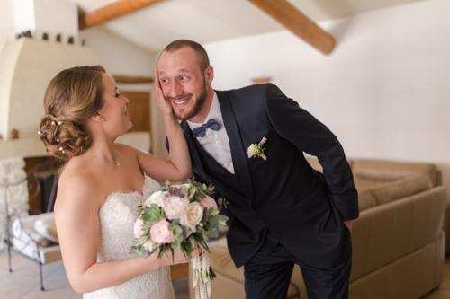 photo mariés à velleron Vaucluse