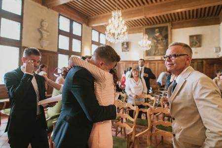 Photographe mariage gay à Fontvieille