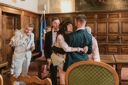 Photographe mariage gay à Montfrin