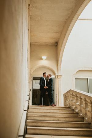 Photographe mariage gay à Avignon