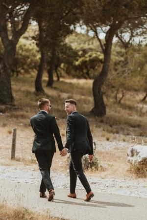 Photographe mariage gay à Carpentras