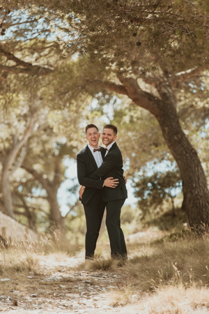 Photographe mariage gay à Istres