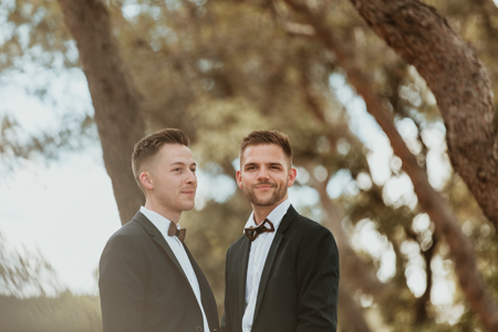 Photographe mariage gay à Montpellier