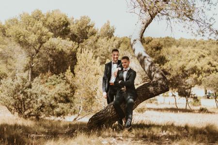 Photographe mariage gay à Grabels