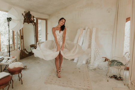 Photographe robe de mariée : créatrice robe mariage