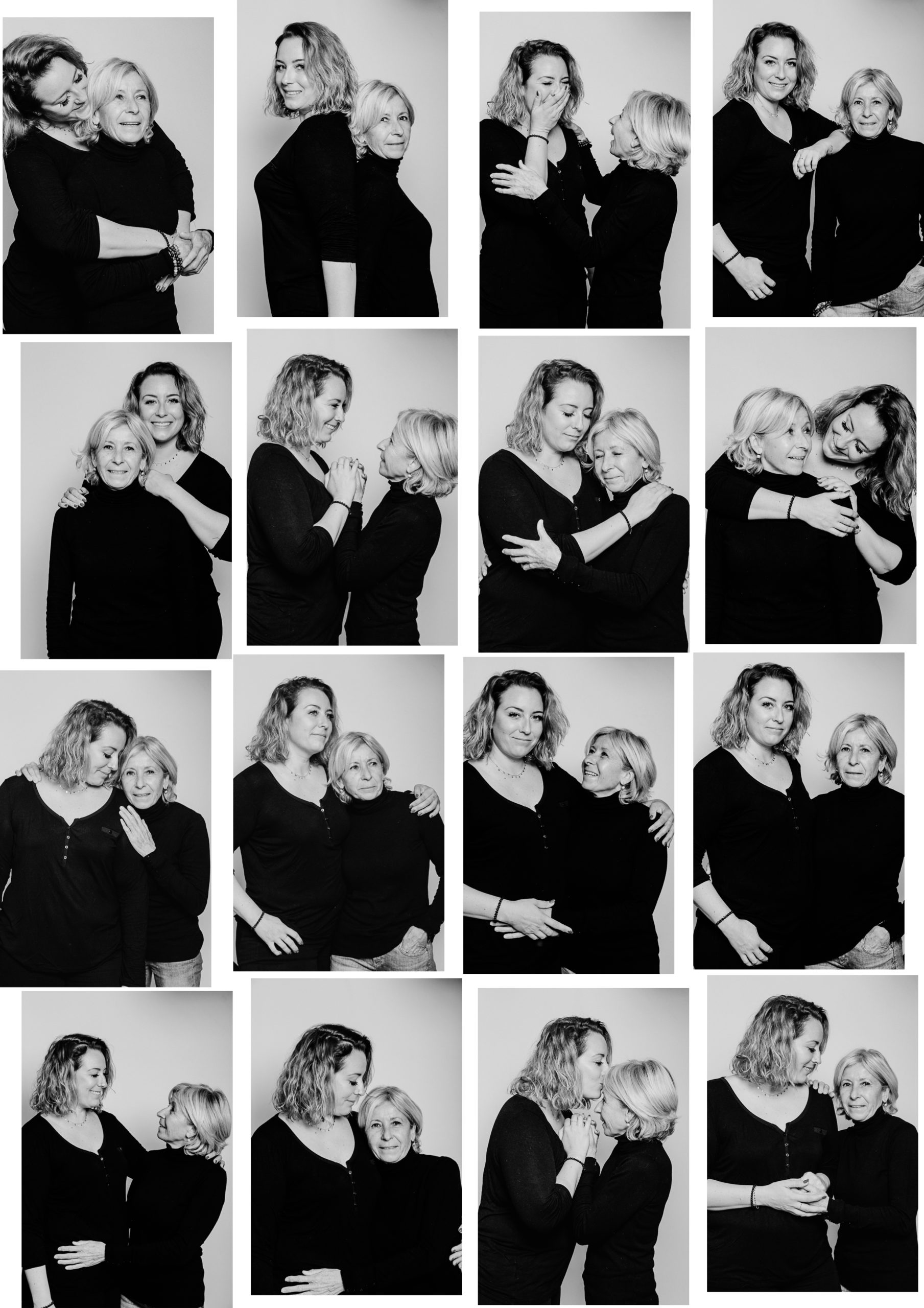 Shooting photo fête des mères à Montpellier en studio