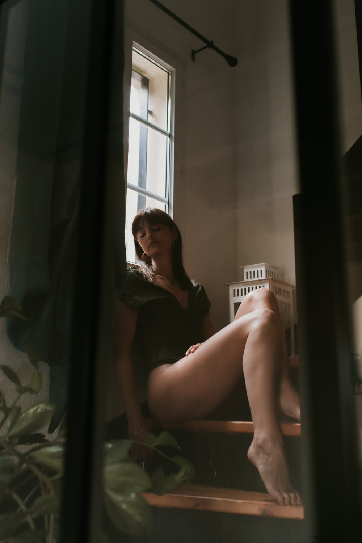 Shooting photo portrait femme Montpellier